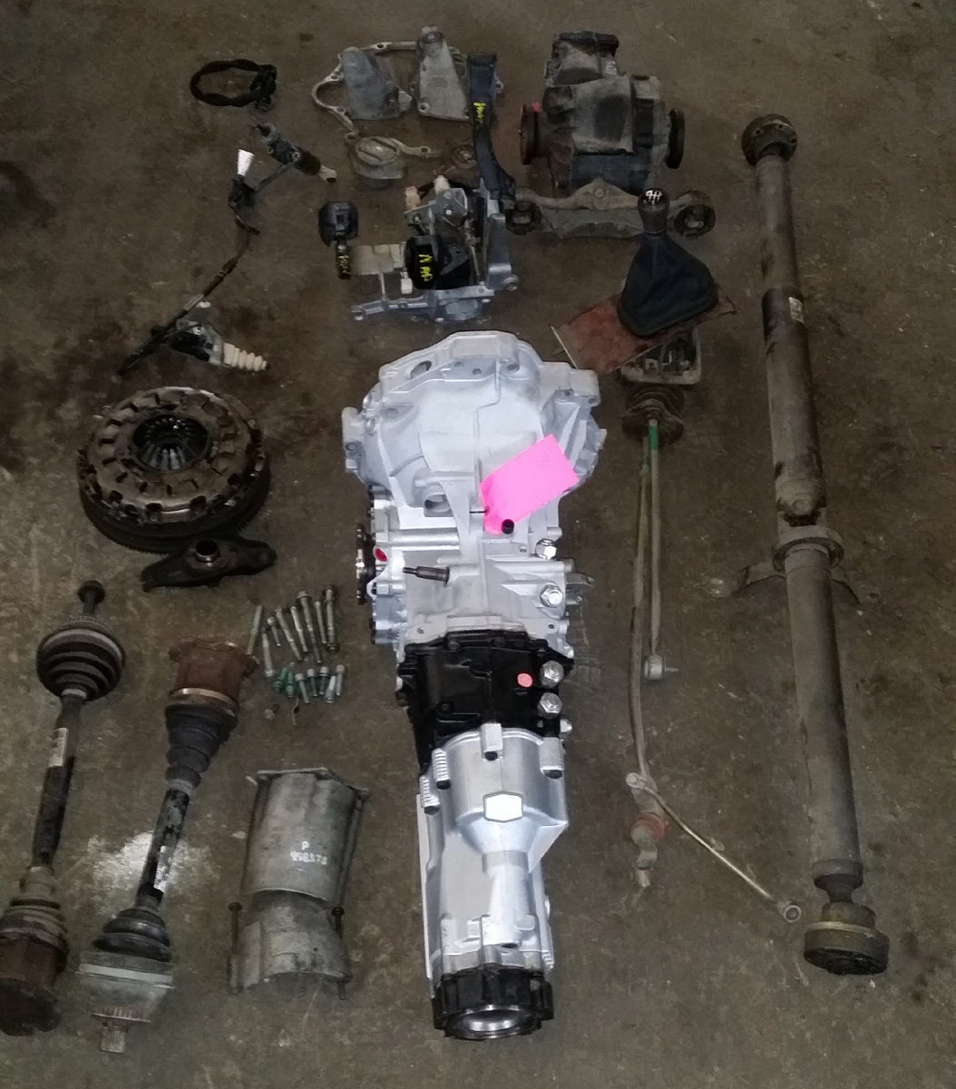 Audi B5 S4/A4 6 speed TDI upgraded transmission swap kit